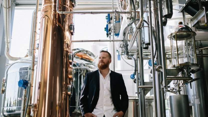 Wayne Gretzky Estates Winery and Distillery master distiller Joshua Beach.