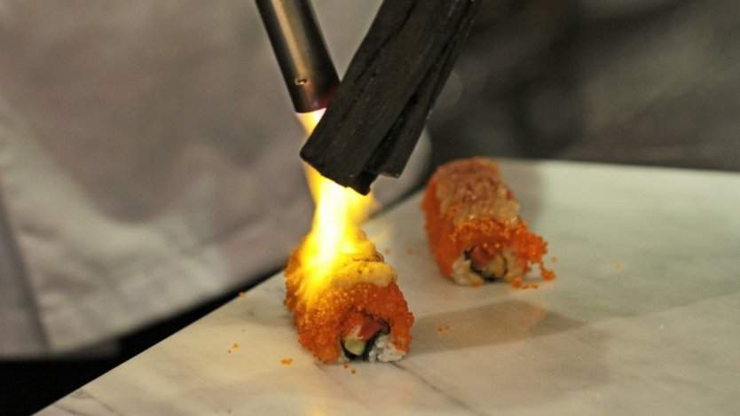 Image for Canadian food DYK: Restaurateur Seigo Nakamura helped reinvent modern sushi by introducing the aburi technique to Canada