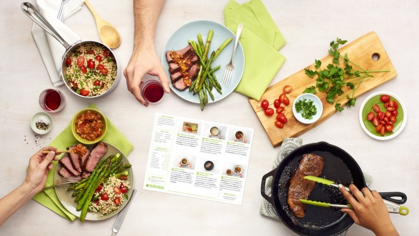 Image for Meal kits are replacing traditional dinner options