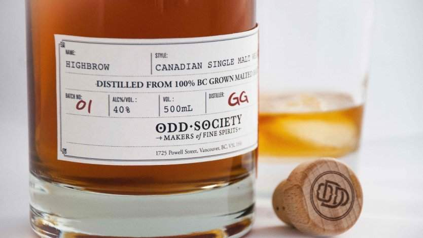 Odd Society single malt whisky
