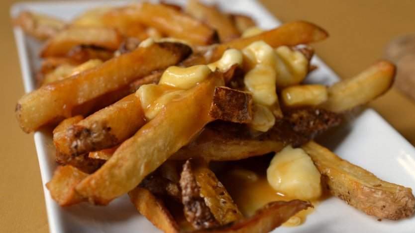 Traditional and authentic poutine.