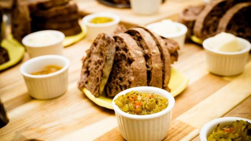Image for Bryn Rawlyk of The Night Oven debuts unique purple barley sourdough bread