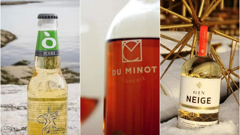 Pictures from KcKeown, Du Minot and Domaine Neige Instagram accounts