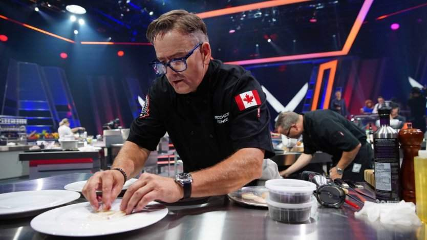 Image for Canadian food DYK: Chef Rob Feenie was the first Canadian to win Iron Chef America