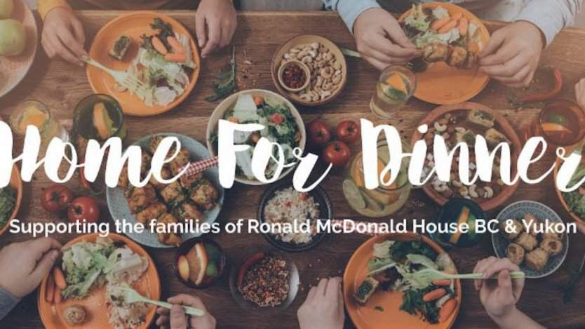 "Image for Daily bite: Home for dinner"" fundraising initiative In support of Ronald McDonald House BC & Yukon"