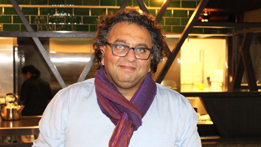 Image for The colours and spices of Vikram Vij's cuisine