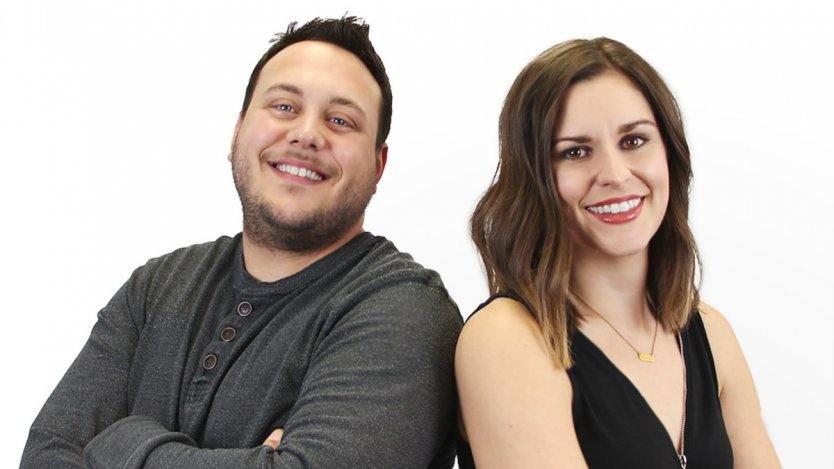 Image for One day in Calgary: Wild 95.3 morning show hosts Jess and Bo