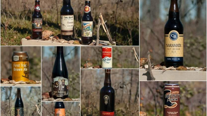 9 Canadian beers to drink by the fire this winter. Photos by Ron Scott.