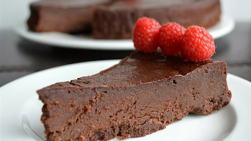 Image for Flourless chocolate torte