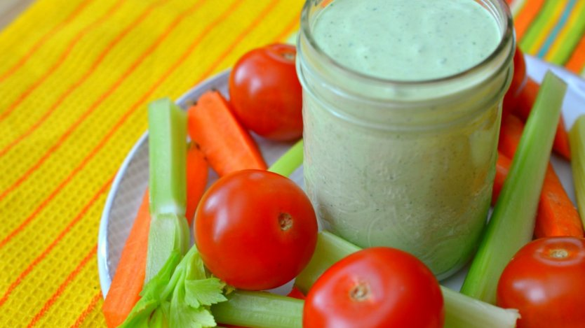 Image for Spicy Green Goddess dressing