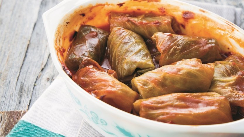 Image for Karlynn Johnston's Holopchi (Ukrainian cabbage rolls)