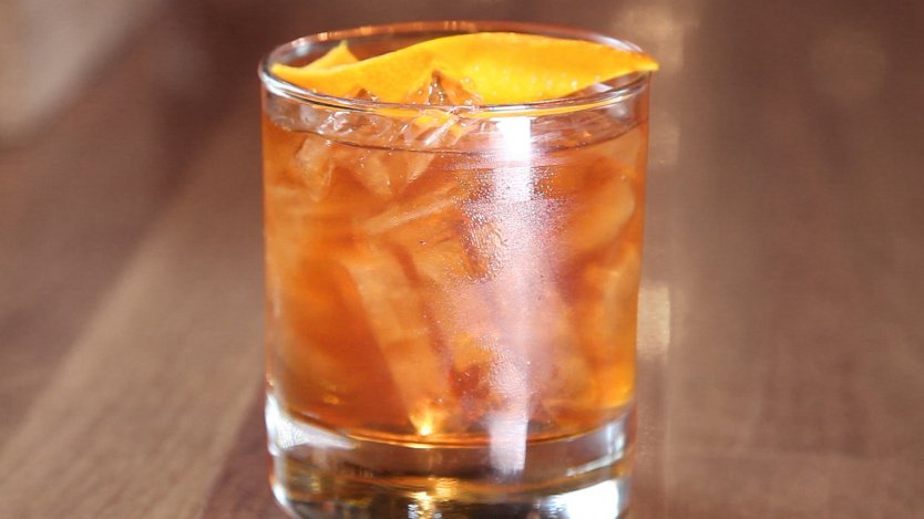 Image for Bourbon cocktail: Old-Fashioned