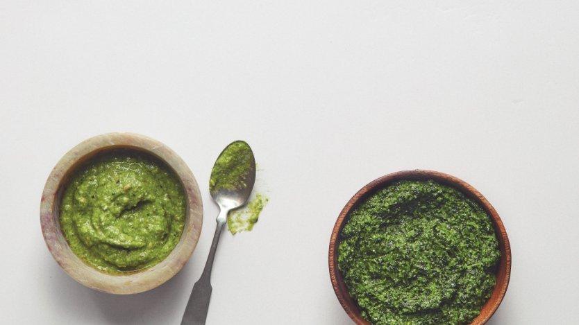 Image for Ricardo Larrivée's broccoli pesto