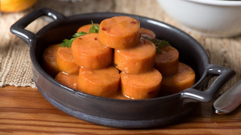 Image for Railtown Catering's maple glazed sweet potatoes