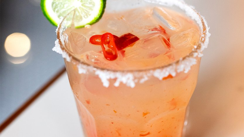 Image for Hendrik's Restaurant & Bar's red chili margarita