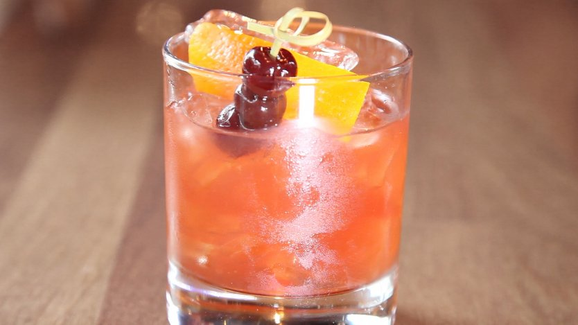 Image for Bourbon cocktail: Re-Fashioned