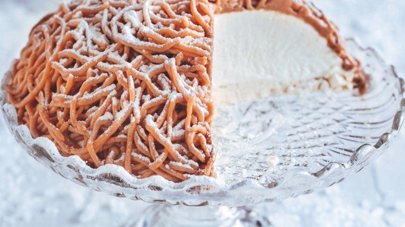 Image for Ricardo Larrivée's Mont Blanc chestnut cake