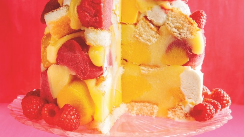Image for Ricardo's frozen raspberry and mango trifle