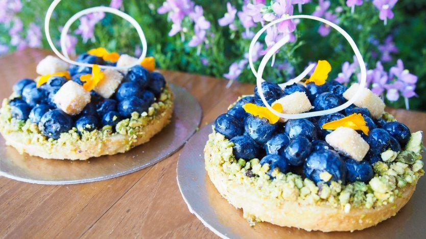 Image for Thomas Haas' B.C. blueberry tart