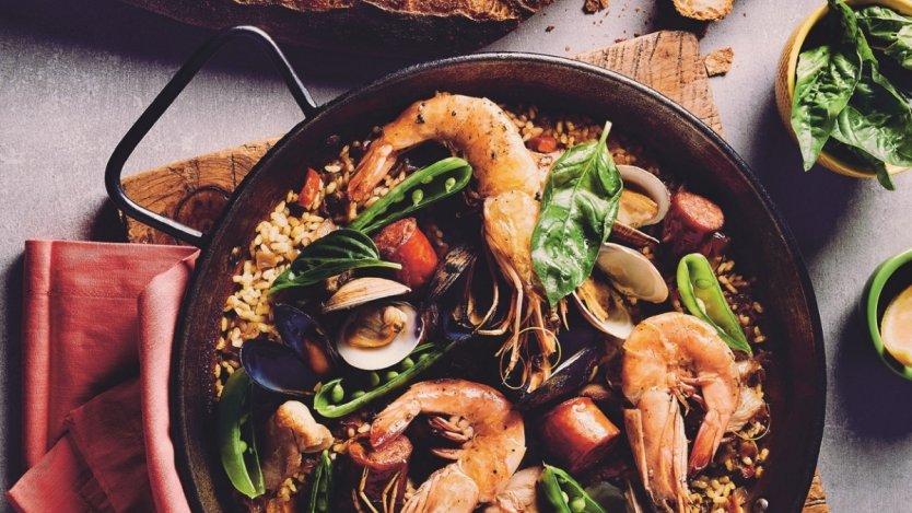 Image for Paella de Carmen from Toronto Eats cookbook