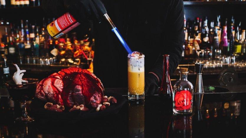 Image for UVA's Graveyard Flip cocktail