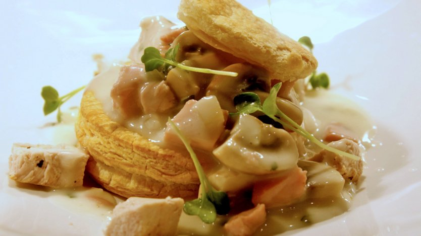 Chef Darren Keoghs Turkey Vol Au Vent Eat North