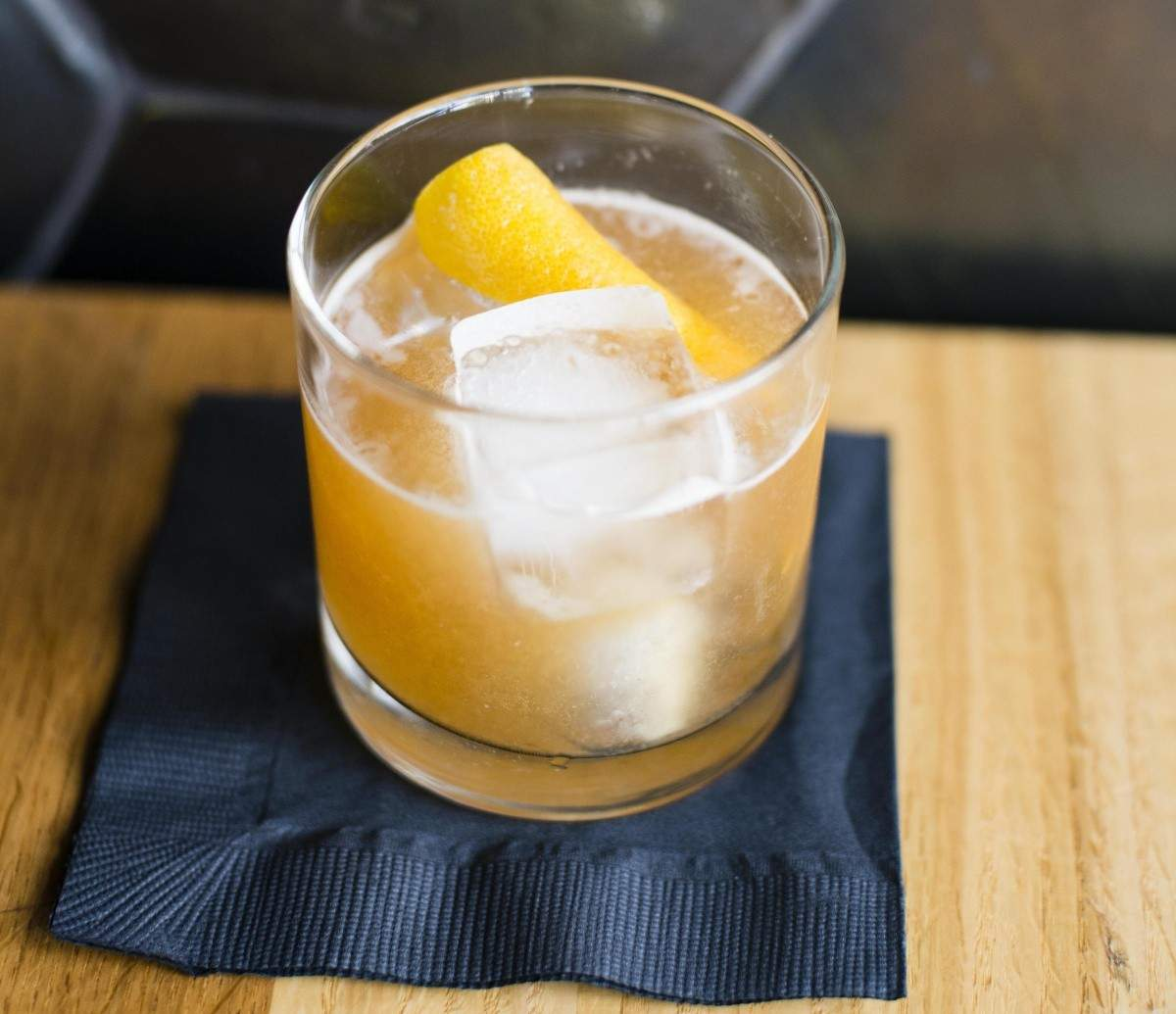 Spice Orange Smash cocktail with Hennessy cognac | Eat North