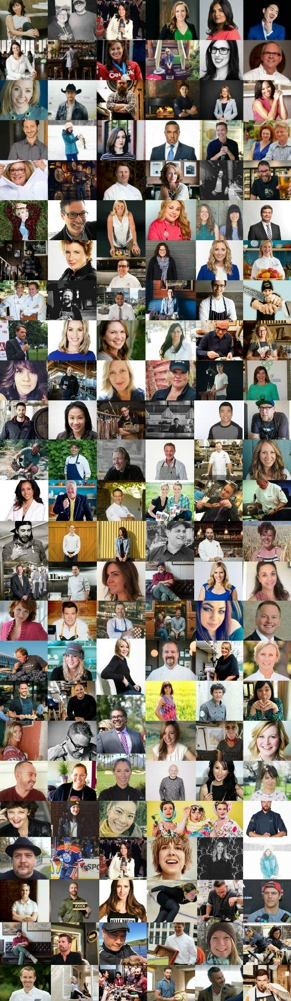 150 Canadians talk about Canada's food scene for Canada Day