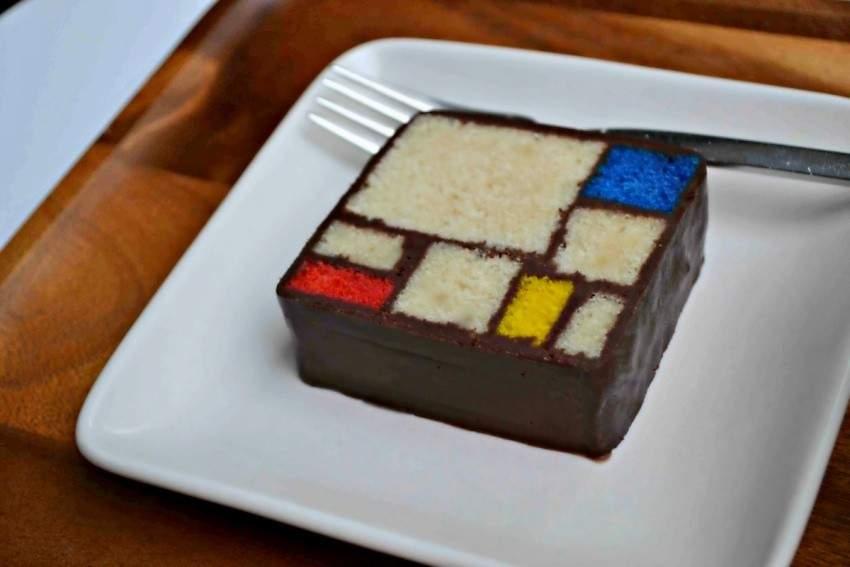 Caitlin Freeman Mondrian Cake Recipe