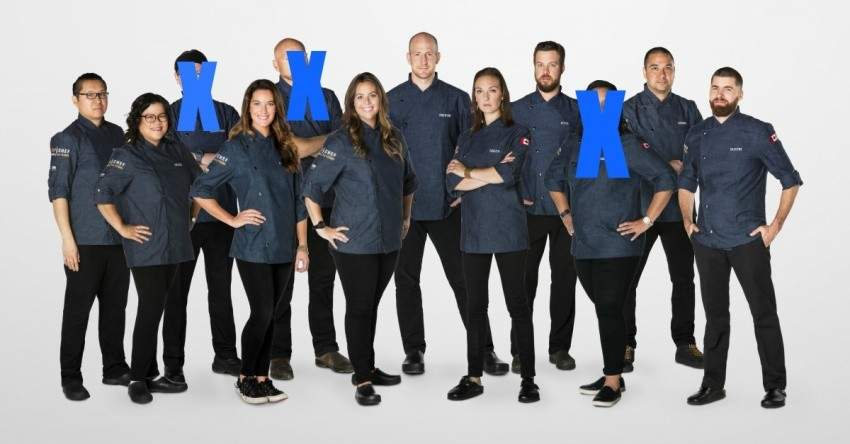 Top Chef Canada all stars