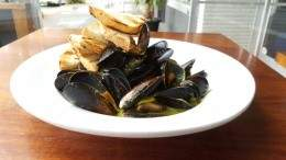 Image for El Camino's chimichurri mussels