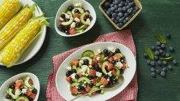 Watermelon Salad with Feta and premii bet at home mobilna free-bet z bet at home Basil