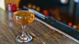 David Bain's St. Helena cocktail