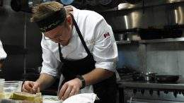 Chef Jonathan Korecki. photo courtesy of Top Chef Canada