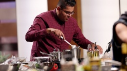 Image for One day in Calgary: designer and MasterChef Canada contestant Ali Jadavji