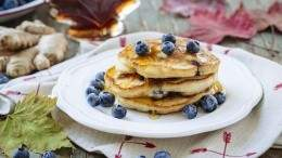 Image for Blueberry ginger pancakes with BC blueberries