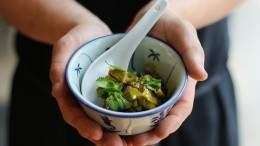 Image for Felix Zhou's Yarrow Meadows duck curry with potato rösti
