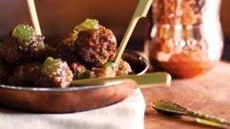 Image for Indian-spiced lamb meatballs recipe from The Preservatory cookbook