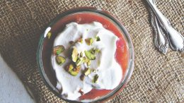 Image for Renee Kohlman's rhubarb fool with cardamom cream