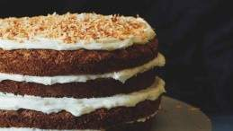 Image for Lynn Crawford's parsnip cake with cream cheese frosting