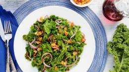 Image for Sautéed Kale with Golden Raisins & Onions