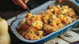 Image for Butternut squash casserole from Simple Bites Kitchen cookbook