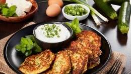 Image for Zucchini-Feta Pancakes