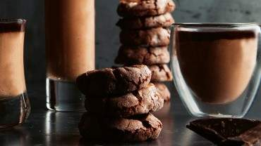 Image for Araxi's triple chocolate cookies