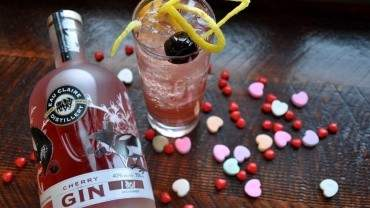 Image for Eau Claire Distillery's Cherry Gin collins