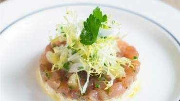 Tuna tartare recipe chef Tyler Shedden