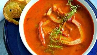 Smoked tomato soup recipe
