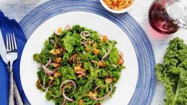 Image for Sautéed Kale with Golden Raisins & Onions