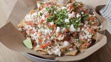 Tacofino's Super Bowl nachos. Photo by Laura McGuire.