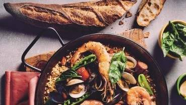 Image for Paella de Carmen from Toronto Eats cookbook